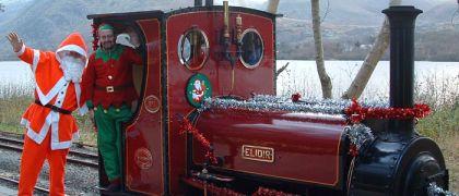 Santa at Llanberis Lake Railway